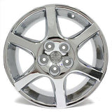 "17"" NISSAN ALTIMA 2002 2003 2004 WHEELS CHROME OEM 62398 (4)"
