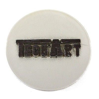 TECHART WHEELS CENTER CAP # 3172 SILVER