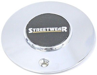 STREETWEAR SUPERIOR ICW WHEEL CENTER CAP V8 64 SERIES CHROME USED