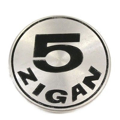 5 ZIGAN WHEELS CENTER CAP