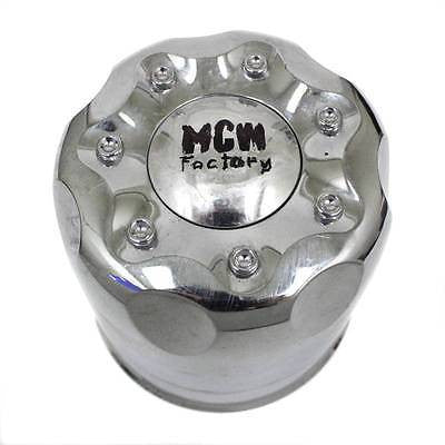 MCW FACTORY EDGE PACER MKW WHEEL CENTER CAP CHROME TRUCK