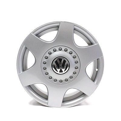 "16"" WHEEL VW BEETLE '98 99 00 01 02 03 04 05 FACTORY OEM # 69724 SILVER"