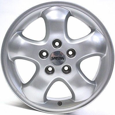 "16"" SATURN L SERIES 2003 2004 2005 WHEEL OEM 7031 SILVER"