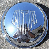 ATA WHEEL CENTER CAP ALBA WHEEL CHROME #DM60 NEW