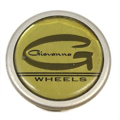 GIOVANNA WHEELS CENTER CAP SILVER GOLD