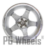 "18"" WHEEL AMG MERCEDES BENZ CLK SLK FRONT CHROME FACTORY OEM"