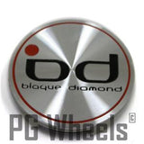 BLAQUE DIAMOND WHEEL CENTER CAP # 1038K75 NEW BROKEN TAB