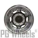 "16x8 WELD RACING WHEELS POLISHED 8 LUGS FORD TRUCK 16"" SET OF (4)"