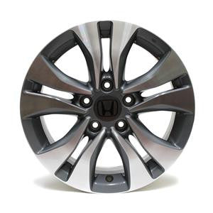 "16"" HONDA ACCORD 2014 2015 WHEEL OEM 64046 CHARCOAL"