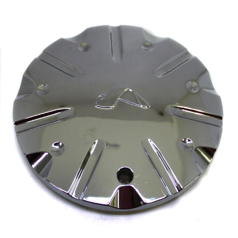 ALBA WHEEL CENTER CAP CHROME DM-580 NEW