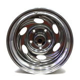 16X10 AMERICAN EAGLE ALLOY POLISHED WHEELS FORD BRONCO JEEP CJ5 (4)