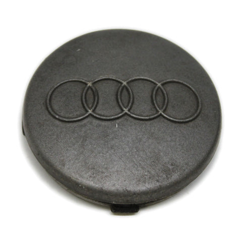 AUDI A SERIES WHEEL OEM CENTER CAP DARK GREY # 8D0-601-170A USED