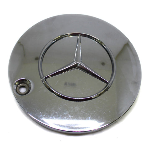 MERCEDES BENZ AMERICAN RACING WHEEL PRO31 CHROME CENTER CAP USED