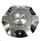 ANELLA WHEEL RAZOR CENTER CAP CHROME #C160 NEW