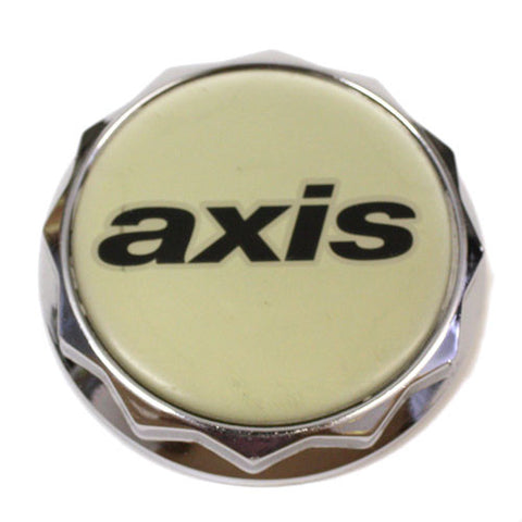 AXIS WHEELS CENTER CAP CHROME NEW