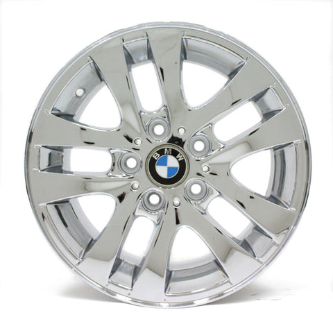 "16"" BMW 323i 325i 328i 330i 335i 06 07 08 09 10 11 12 CHROME WHEEL OEM 59580"