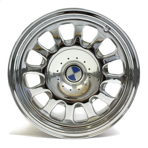 "15"" BMW 5 SERIES 528I 540I 1997 1998 1999 2000 CHROME WHEELS OEM 59251 (4)"