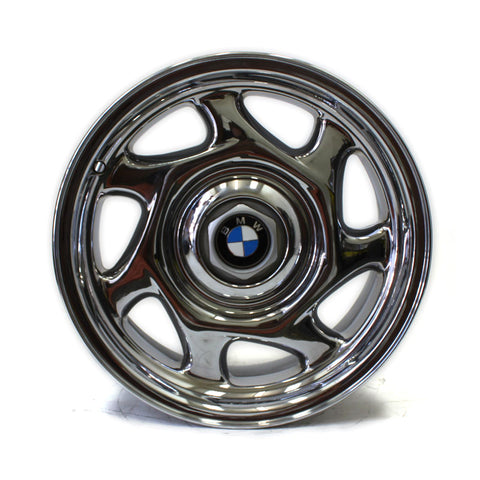 "16"" BMW 840i 1991 1992 1993 1994 1995 1996 97 BLADE WHEELS CHROME OEM 59178 (4)"