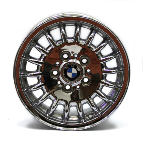 "15"" BMW 318i 320i 323i 325i 328i 1993 1994 1995 1996 CHROME WHEELS OEM 59183 (4)"