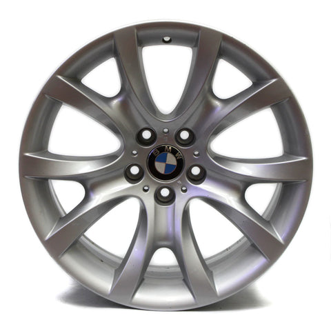 "19"" BMW X6 2008 2009 2010 2011 2012 2013 2014 REAR WHEEL OEM 71282 SILVER"