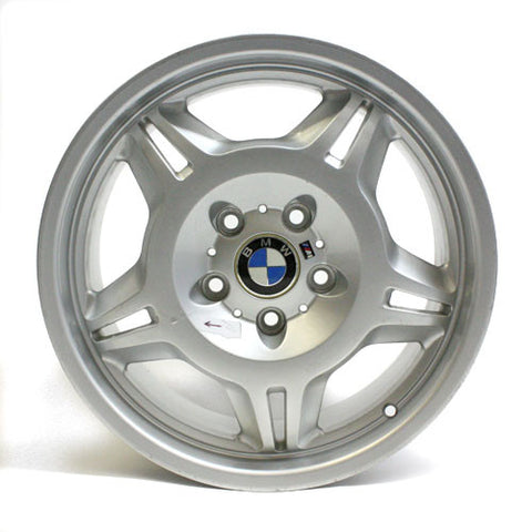 "17"" BMW 3 SERIES Z3 M3 1995-2002 SILVER WHEEL REPLICA 59267 17x7.5"