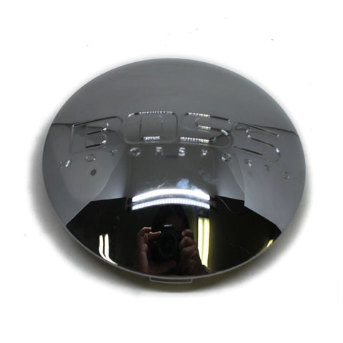 BOSS MOTORSPORTS WHEEL CENTER CAP CHROME # 3156 NEW