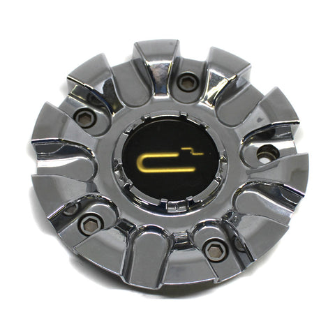 C SQUARED ALLOY WHEEL CHROME CENTER CAP # C-22085 USED