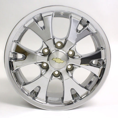 "18"" CHEVY COLORADO CANYON 2004 2005 2006 2007 2008 CHROME WHEEL OEM 5324"