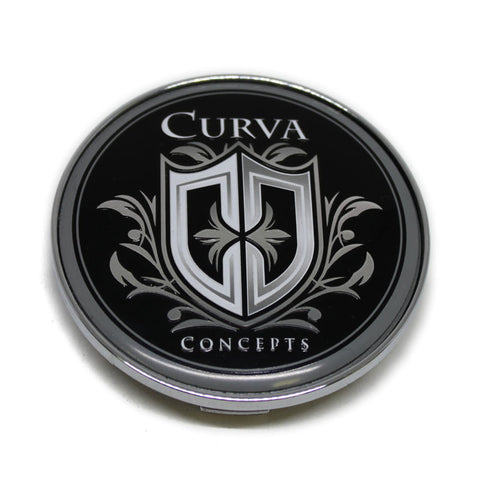 CURVA CONCEPTS WHEEL CENTER CAP # ADR42 NEW