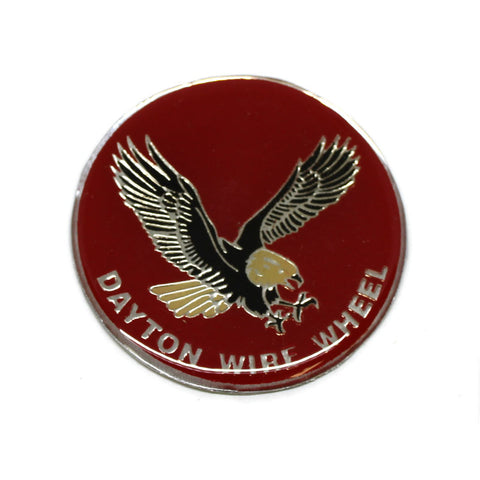 RED EAGLE DAYTON WIRE WHEEL EMBLEM STICKER (1)
