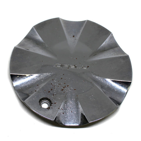 DIABLO WHEEL CHROME CENTER CAP # MCD8033TA01 USED