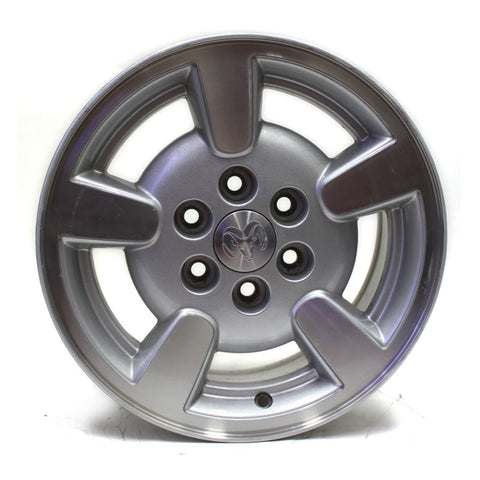 "15"" DODGE DAKOTA 2001 2002 SILVER MACHINED WHEEL OEM 2132"