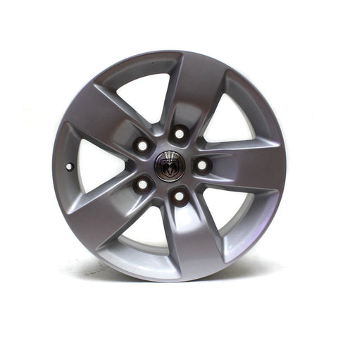 "17"" WHEEL DODGE RAM 1500 2013 2014 2015 2016 2017 FACTORY OEM 2448 SILVER"