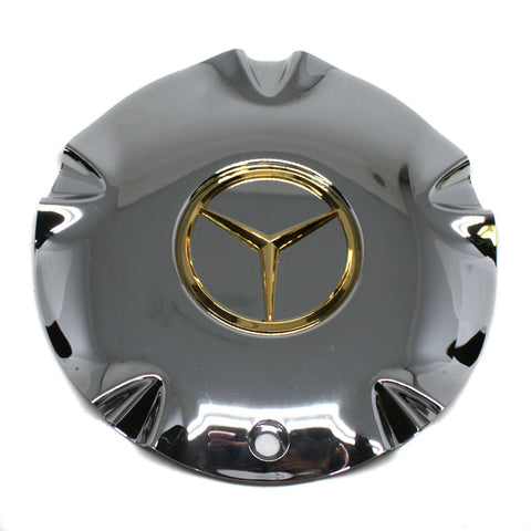 EPIC CLASSIC MERCEDES BENZ WHEEL CHROME CENTER CAP 10942 NEW