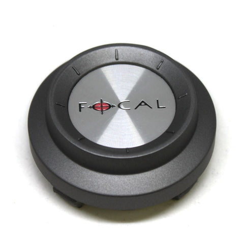 FOCAL WHEEL CENTER CAP C-300 FWD GRAY 89-9117
