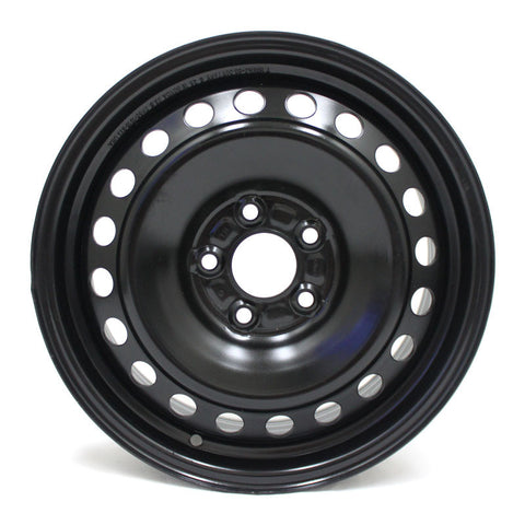 "16"" WHEEL FORD FOCUS 2012 2013 2014 BLACK STEEL FACTORY OEM 3876"