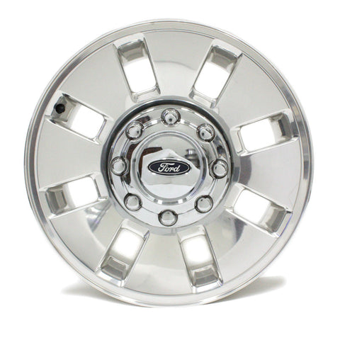 "18"" FORD F250 F350 2008 2009 2010 POLISHED FORGED WHEEL FACTORY OEM 3689"