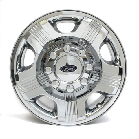 "18"" FORD F350 2008 2009 2010 CHROME CLAD STEEL WHEEL OEM 3688"