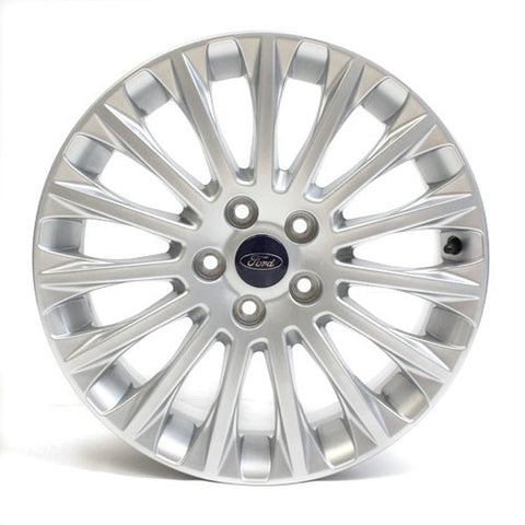 "17"" FORD FOCUS 2011 2012 2013 SILVER WHEEL FACTORY OEM 3885"