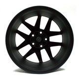 "17"" FORD FUSION 06 07 08 09 10 11 12 BLACK MATTE WHEELS FACTORY OEM 3797 (4)"