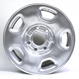 "17"" FORD F150 2004-2011 STEEL WHEEL OEM 3558 SILVER FACE 7 LUGS"