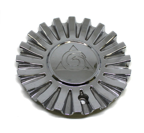 GW GOLDEN WHEEL CHROME CENTER CAP # MC190N102 USED