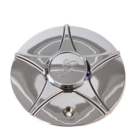 GAZARIO WHEEL CHROME CENTER CAP STYLE #128 #GA128-CAP NEW