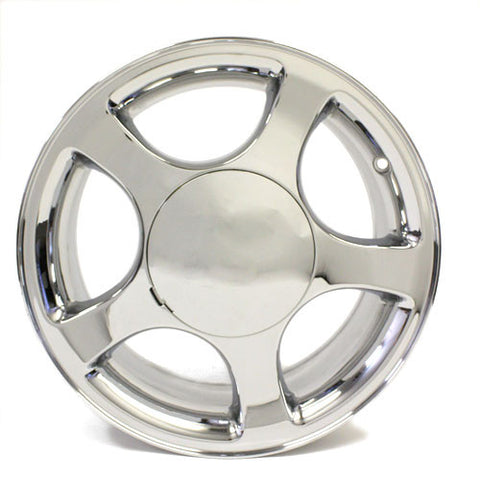 "16"" FORD MUSTANG 1999 2000 2001 2002 2003 2004 CHROME WHEEL OEM 3375"