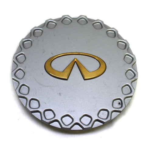 INFINITI J30 WHEEL CENTER CAP # 40315 11Y10 GOLD LOGO USED