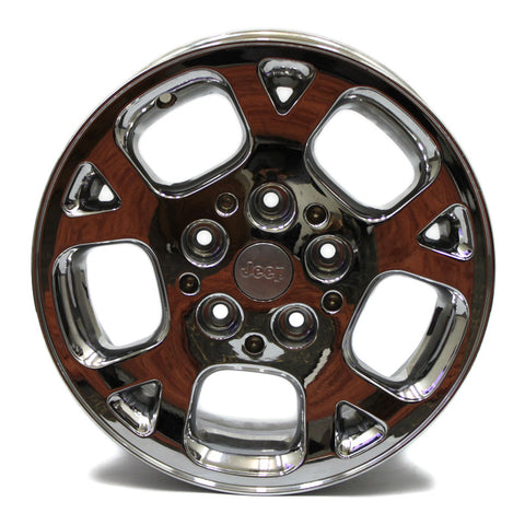 "16"" JEEP GRAND CHEROKEE 1999 2000 2001 2002 2003 CHROME WHEEL OEM 9027"