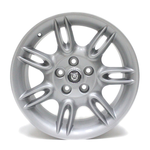 "18"" JAGUAR XK8 2001 2002 WHEELS OEM 59715 SILVER 59716 STAGGERED (4)"