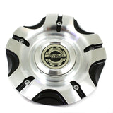 JAVELING RACING WHEEL CENTER CAP BLACK MACHINED JR2B # MCD1300YL01