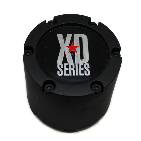 KMC XD SERIES WHEEL CENTER CAP BLACK # 1414-1450-CAP NEW