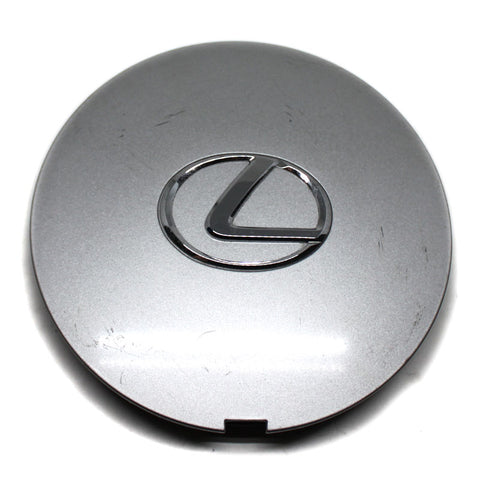 LEXUS WHEEL SILVER CENTER CAP # SAE PPE+PS USED